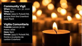 Community Vigil for Mr. Grimaldo
